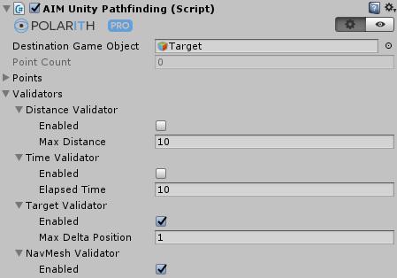 Polarith AI: Unity Pathfinding